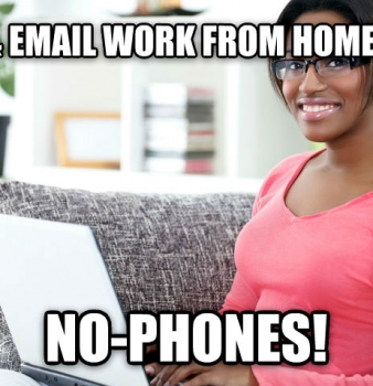 Chat & Email Work from Home Jobs…No-Phones!